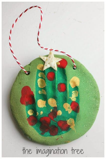 Handprint+Salt+Dough+Christmas+Tree+Ornament