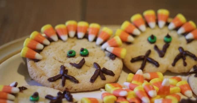 sugar-cookies, Thanksgiving, kids