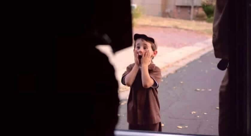 UPS Granted this Little Boy's Wish & His Reaction Is Priceless!