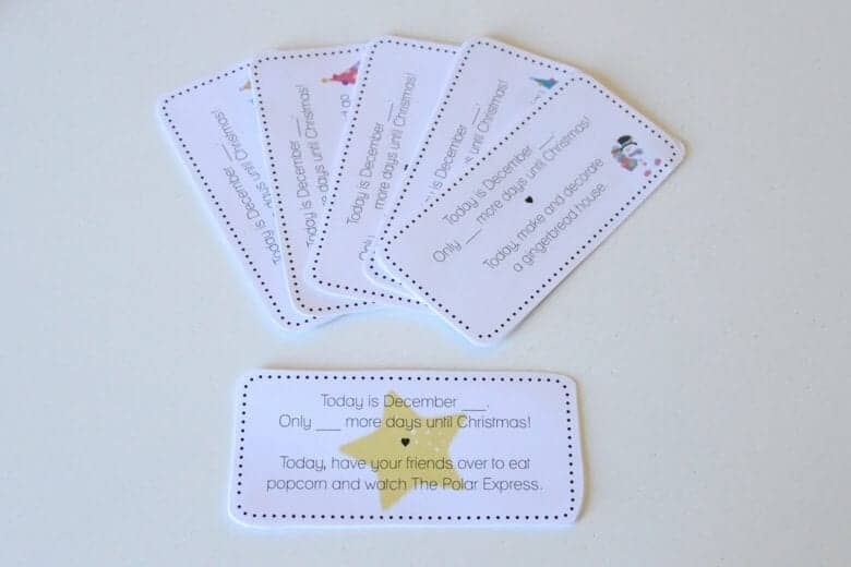 Advent Activity Cards LAM