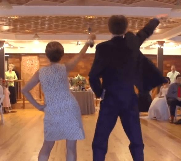 GONE VIRAL: Mom And Son Epic Wedding Dance Showdown