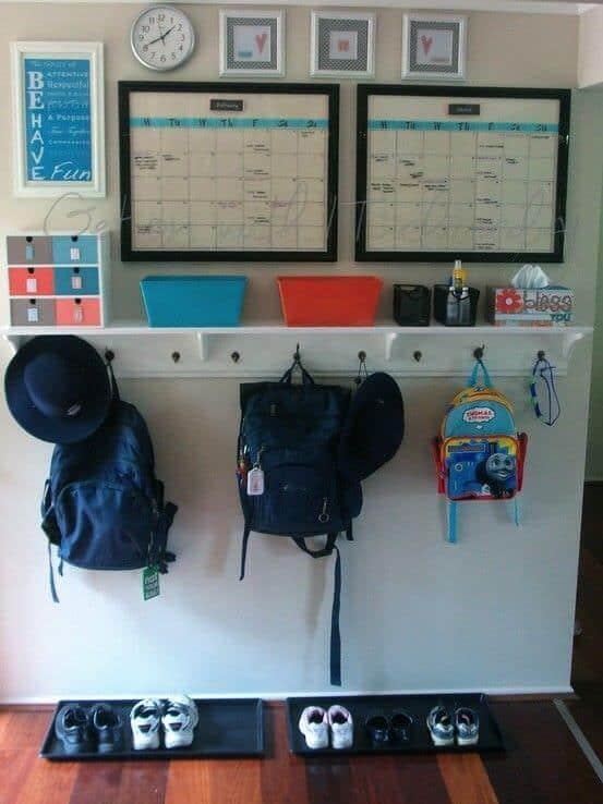 Backpack-Station