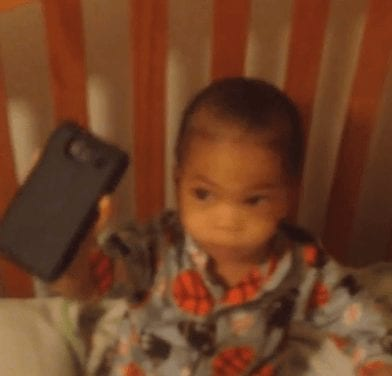 Baby Hears His Wake Up Alarm & What Happens Next Is Adorable!