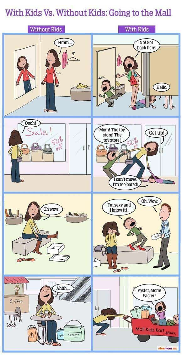 Life After Children You Have To See This Hilarious Cartoon