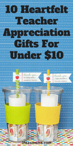 10 Heartfelt Teacher Appreciation Gifts For Under $10