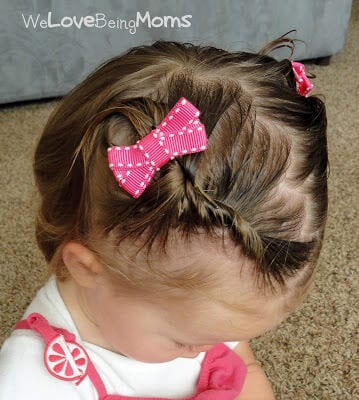 baby girls hair style 12 adorable toddler hairstyles 2340 | 1