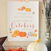inexpensive fall decor