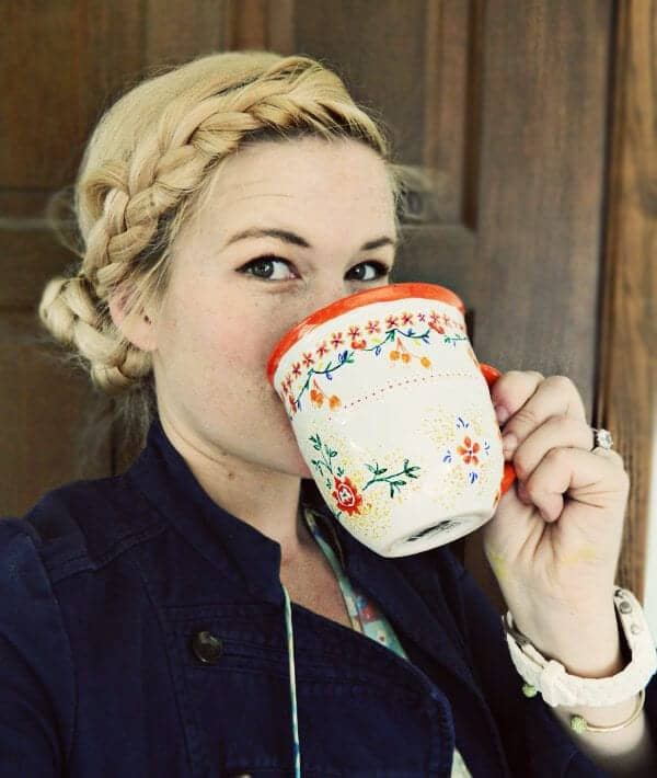 diy anthropologie coffee mugs sharpie markers 6