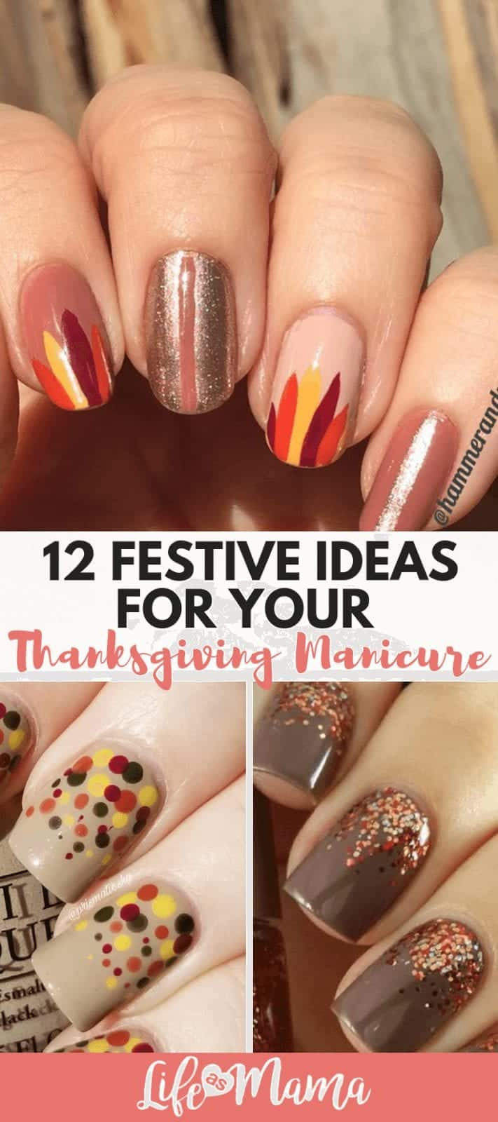 12 Festive Ideas For Your Thanksgiving Manicure