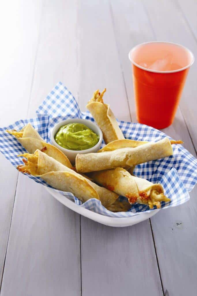 Cheesy-Chicken-Taquitos