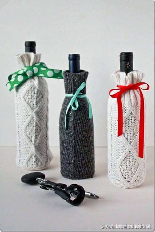 DIY-Sweater-Sleeve-Gift-Bag-for-wine-at-thatswhatchesaid.net_thumb