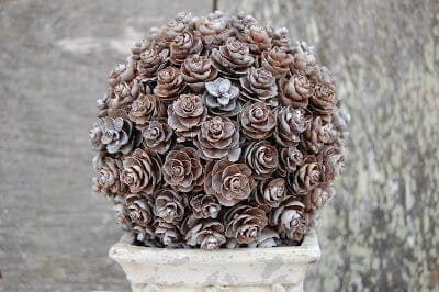 Pinecone Topiary 2