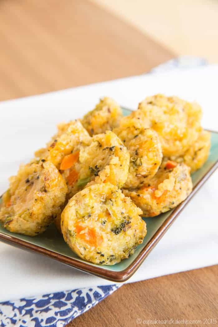 Cheesy-Veggie-Quinoa-Bites