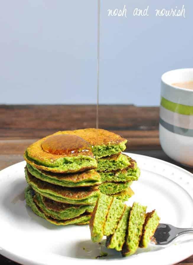 Green Pankcakes