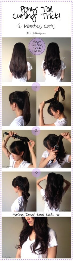 Pony-Tail-Curling-Trick-Tutorial-by-PrettyGossip