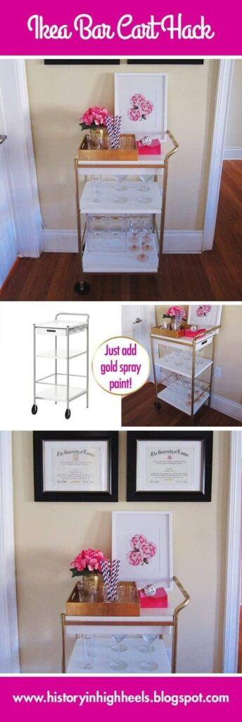 Ikea_Bar_Cart_Hack_Pinterest