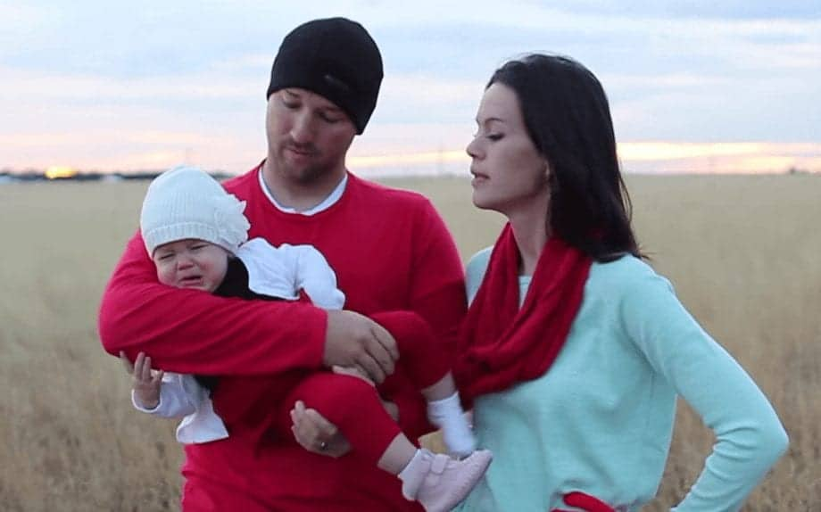 This Is What It REALLY Looks Like To Celebrate Christmas With A Baby!
