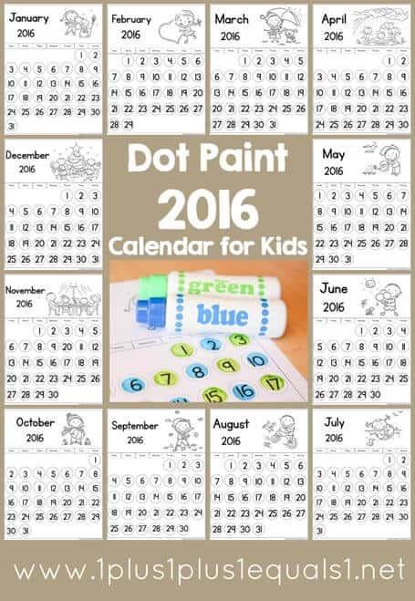 free fun calendars