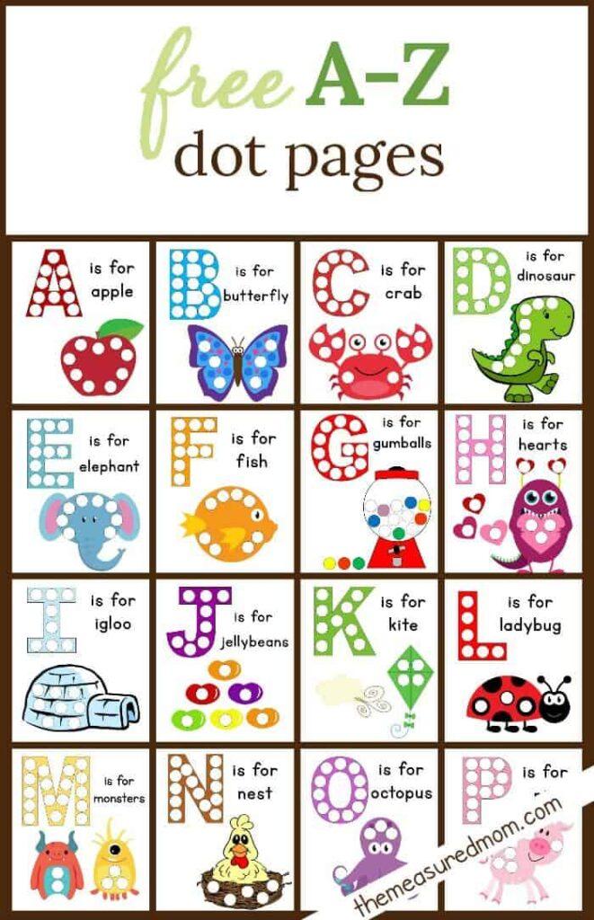 10 Fun Free Do A Dot Printables