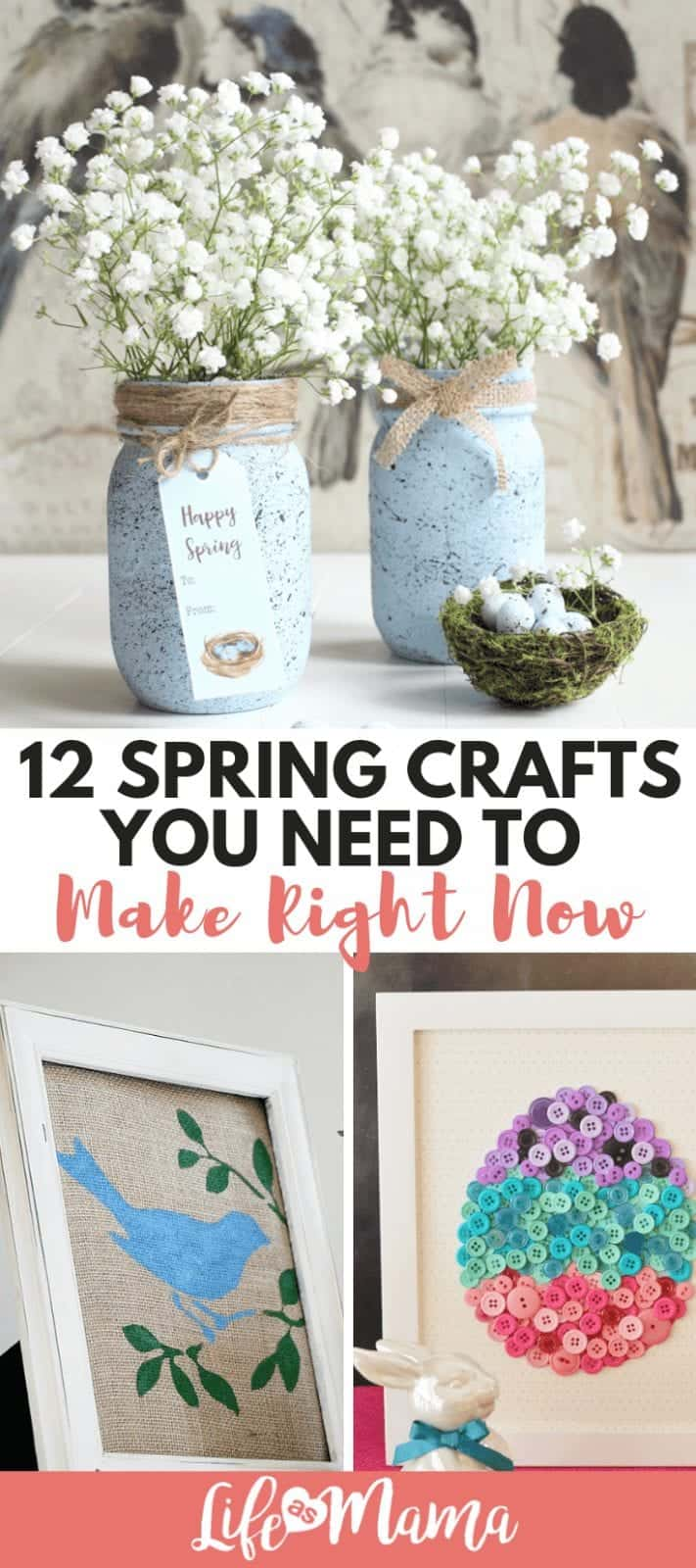 12 Spring Crafts You Need To Make Right Now