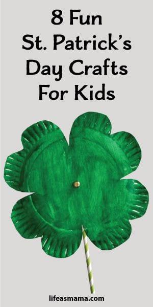8 Fun St Patricks Day Crafts For Kids