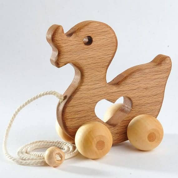 Wooden Toys For Toddlers And Kids : Pass on plastic alternative toddler toys