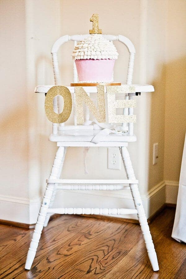 12 First Birthday High Chair Decoration Ideas