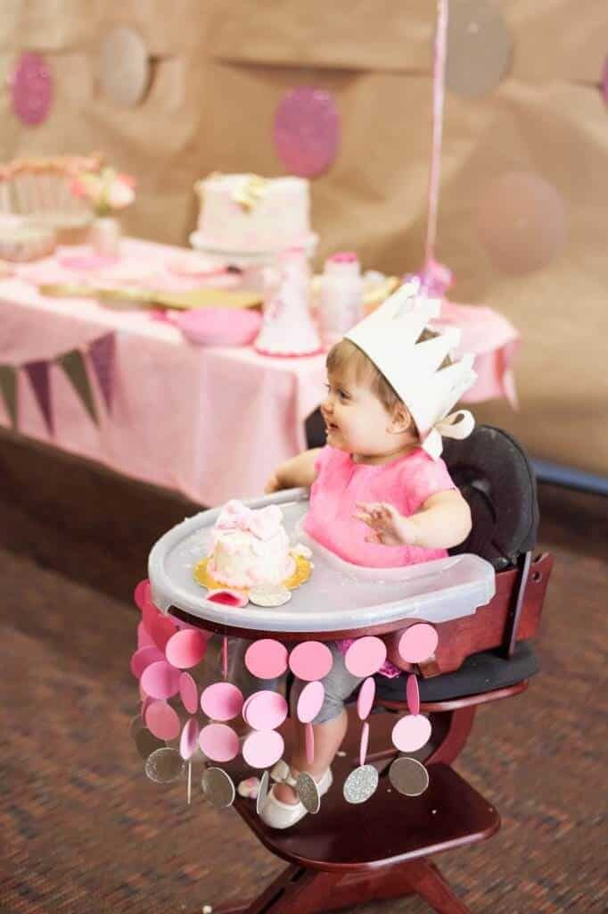 12 First Birthday High Chair Decoration Ideas