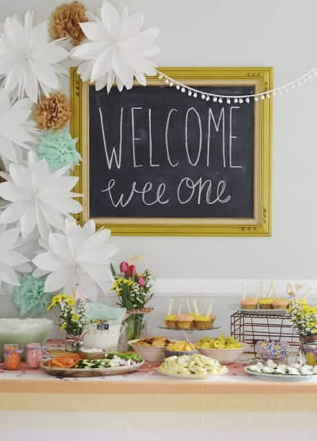6 Spring Baby Shower Themes