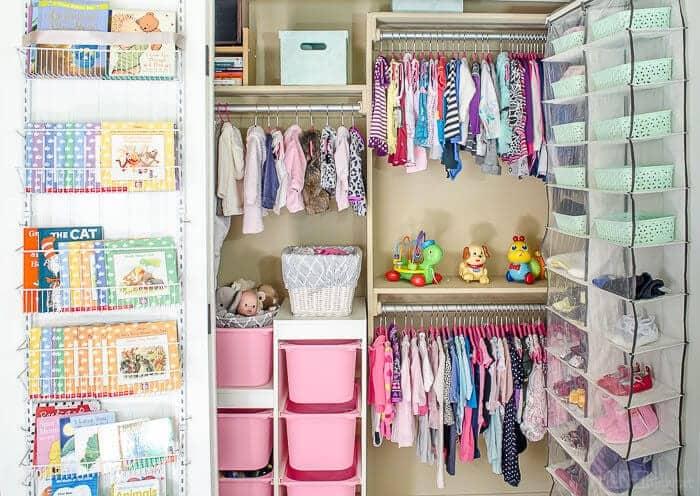 Baby Closet Organization 1