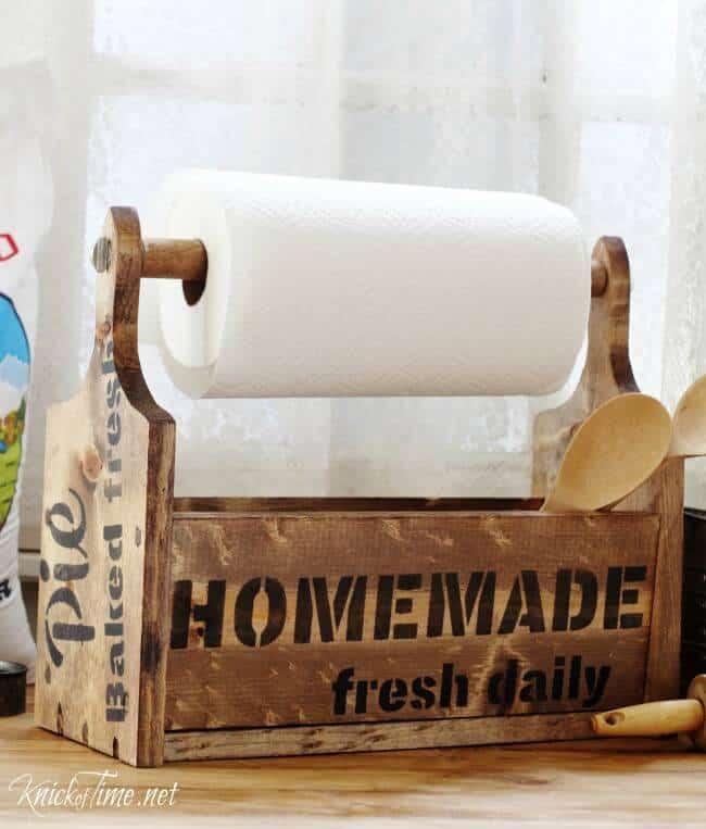 Farmhouse Bread Board Wooden Tote Knick Of Time