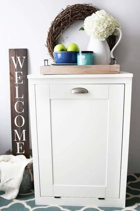 7 diy projects to hide ugly items around your homeHide The Circuit Breakers For The Love Of Home Pinterest #20