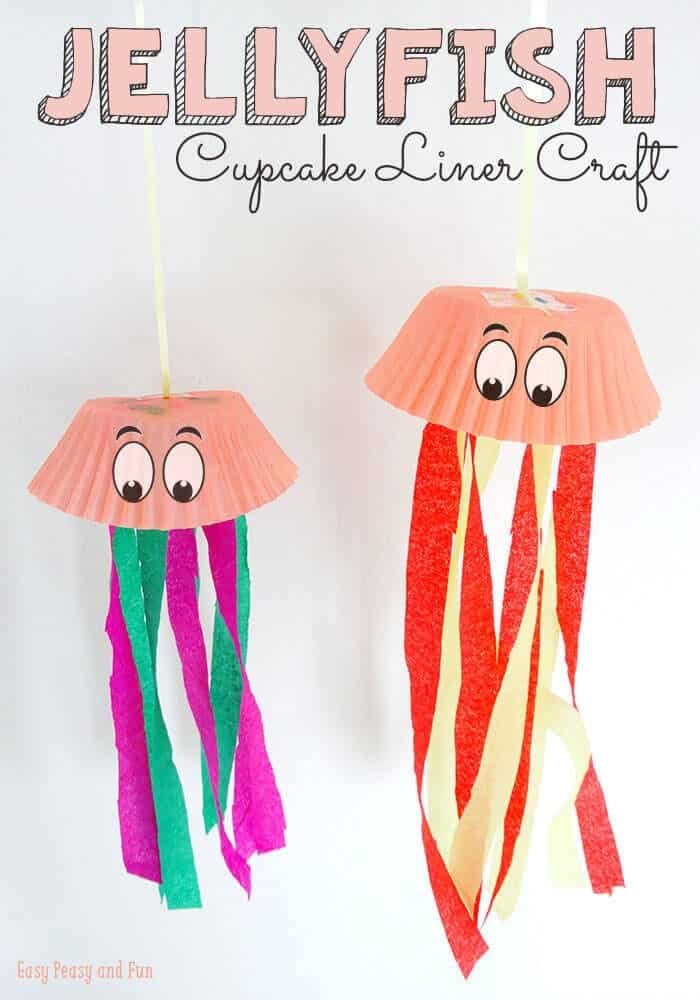 Jellyfish-Cupcake-Liner-Crafts