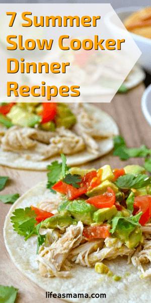 Summer Slow Cooker Dinner Recipes