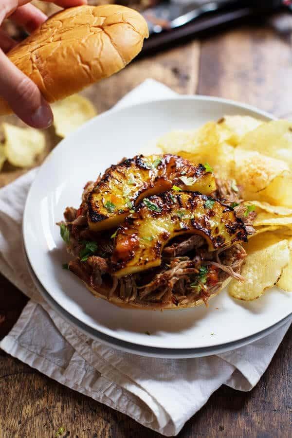 grilled-pineapple-shredded-pork-sandwiches-31