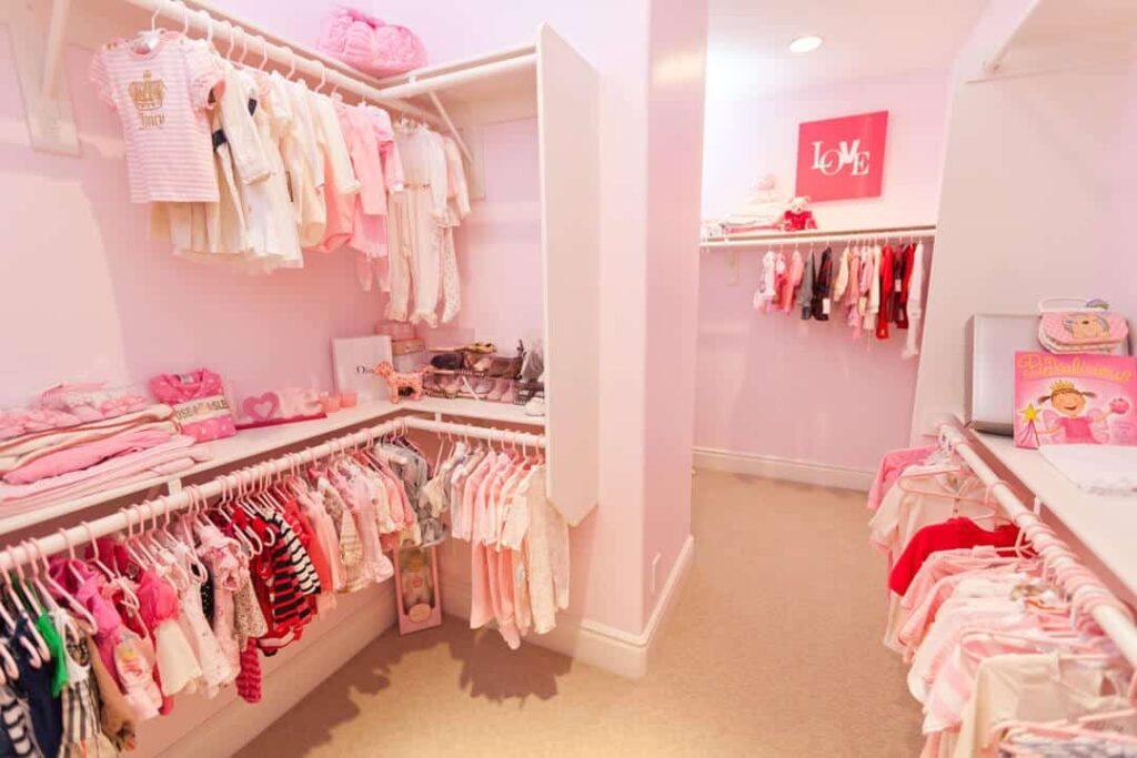 pink-nursery-closet
