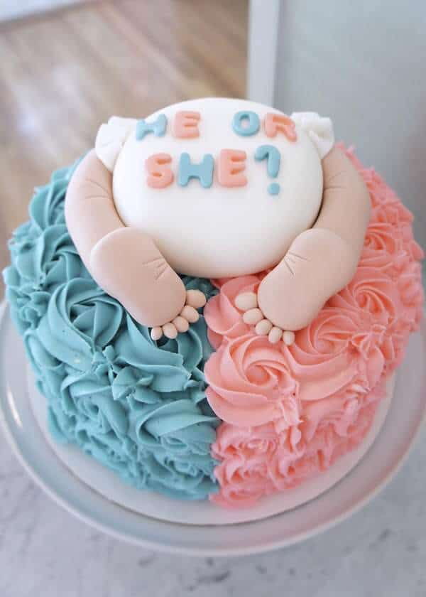 Gender Reveal Cake Sayings