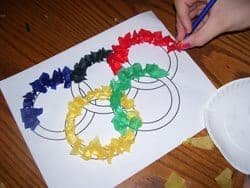 olympic craft ideas for preschool 9 creative crafts for the olympics 6982