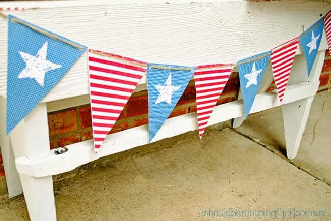 patriotic banner printable