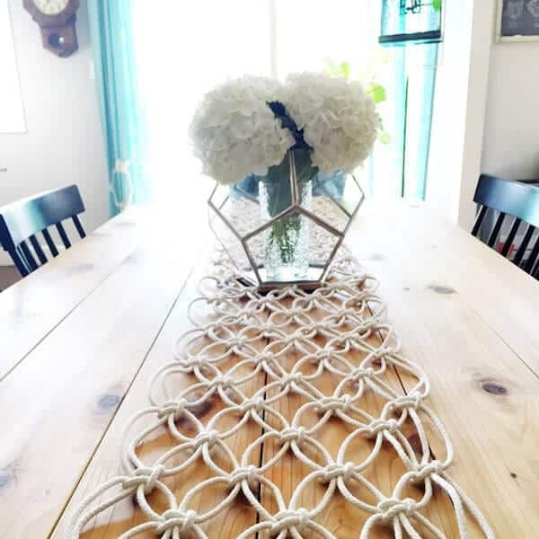 Macrame Runner DIY
