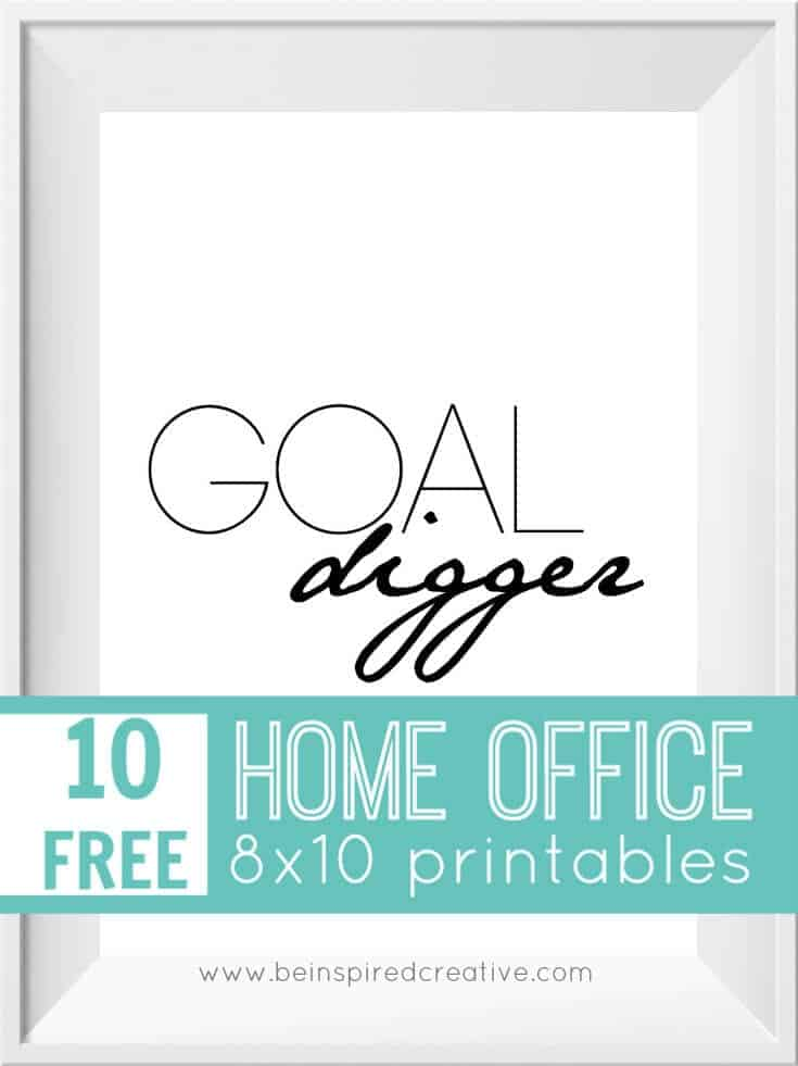 goal-printable
