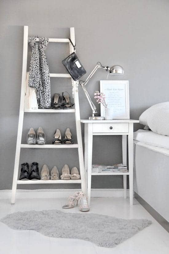 8 Creative Ways To Re-Purpose A Ladder