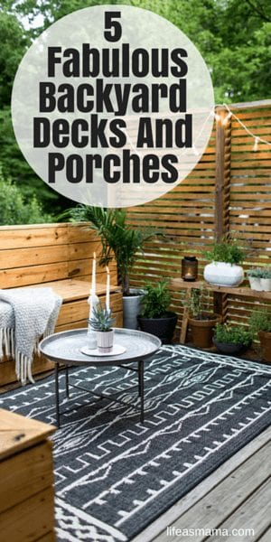 5 Fabulous Backyard Decks And Porches