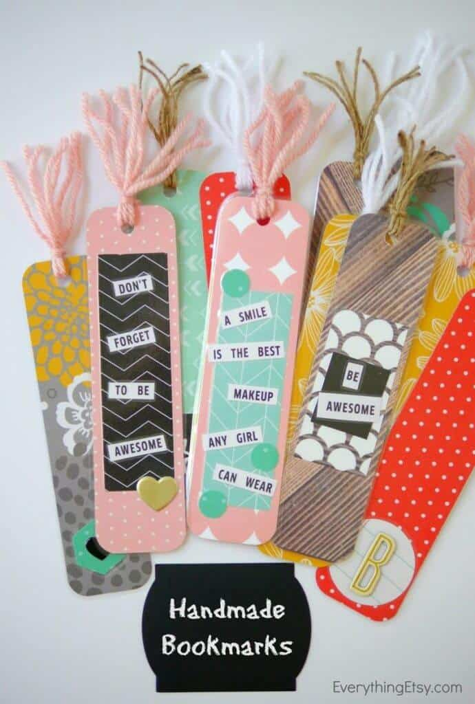 Handmade-Bookmarks-Back-to-school-DIY