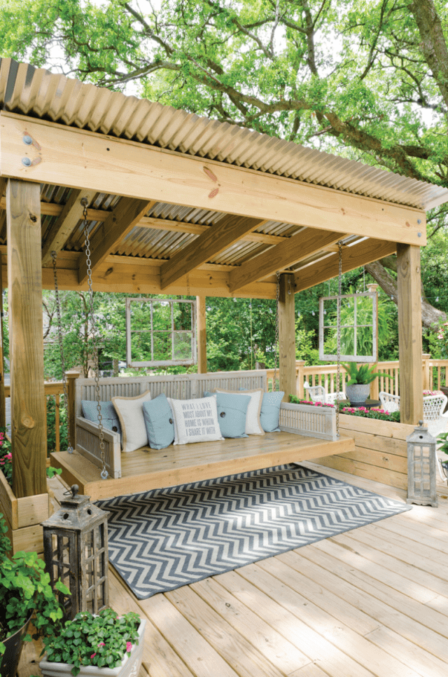 source: Mobile Bay Magazine - 5 Fabulous Backyard Decks And Porches