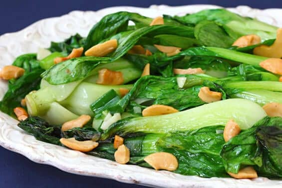 baby-bok-choy-with-cashews