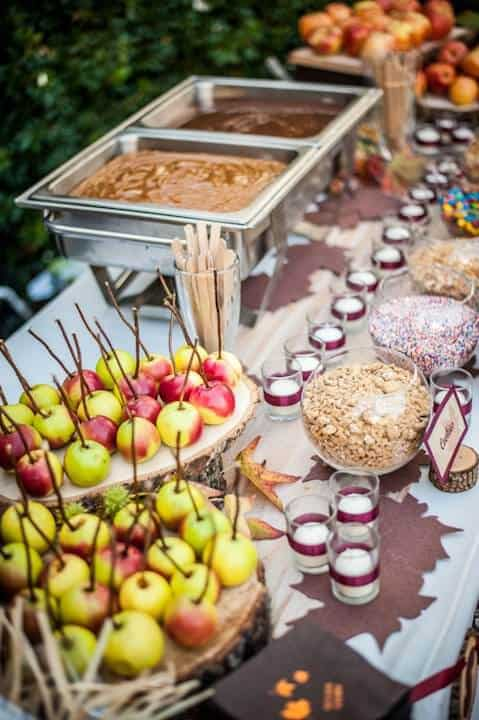 Superb Diy Caramel Apple Bar