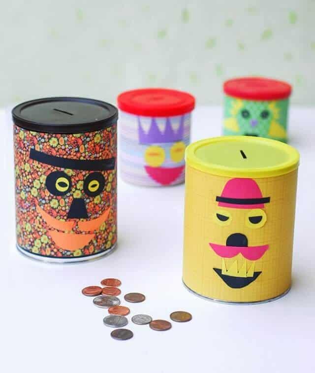 6 diy piggy banks your kids will love for Piggy bank ideas diy