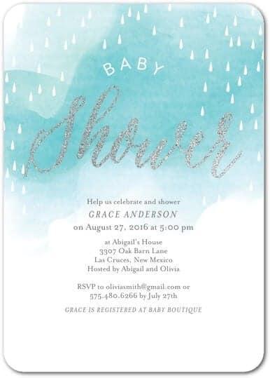 8 Adorable Boy Baby Shower Invitations