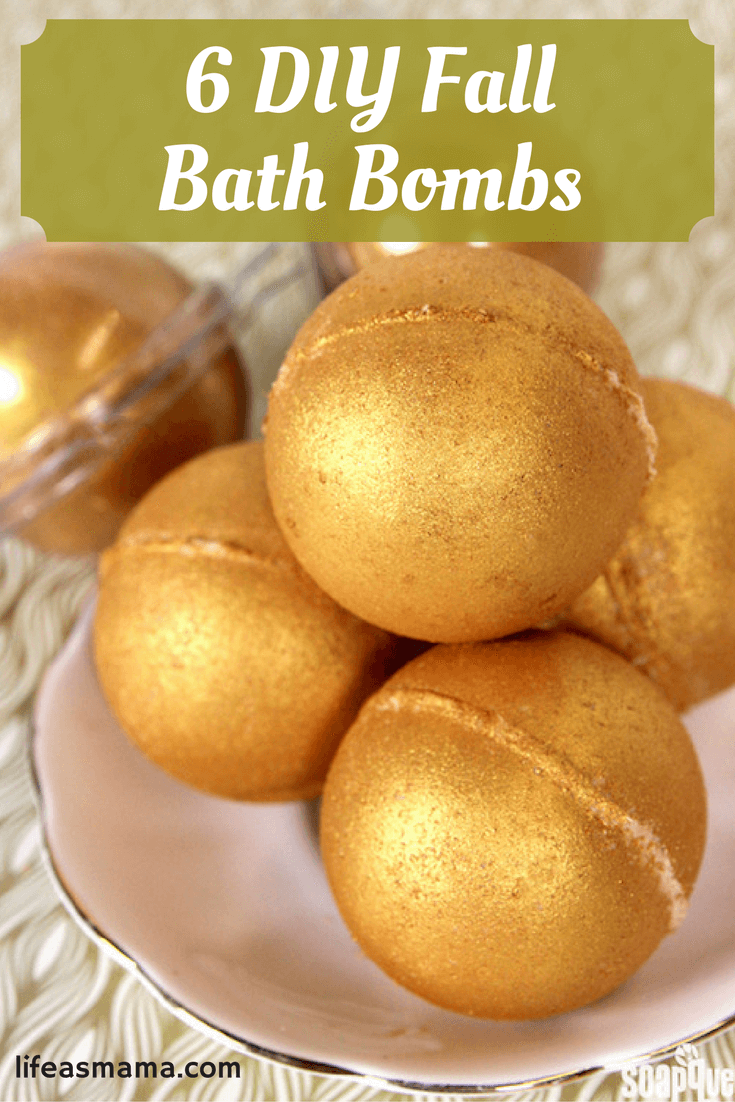 DIY Fall Bath Bombs